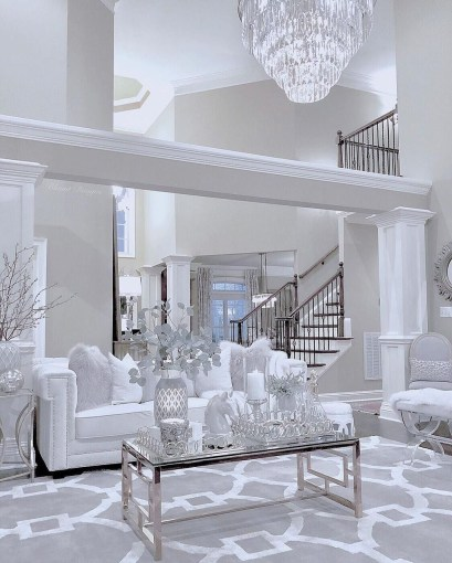 Luxurious And Elegant Living Room Design Ideas28