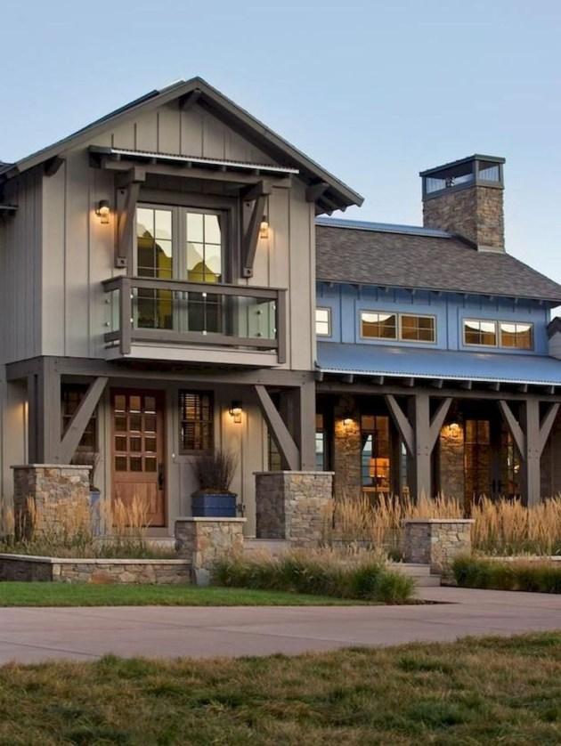 Marvelous Farmhouse Exterior Design Ideas18