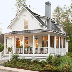 Marvelous Farmhouse Exterior Design Ideas28