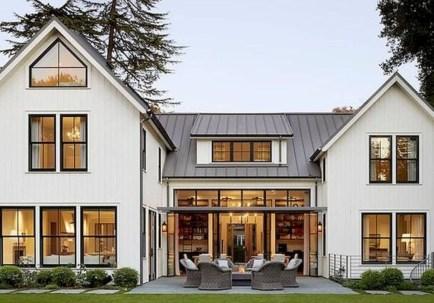 Marvelous Farmhouse Exterior Design Ideas40