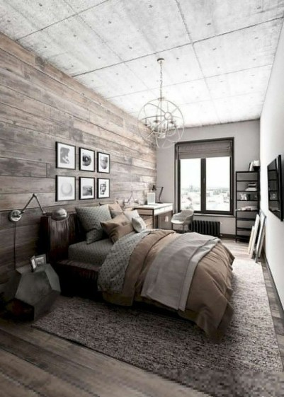 Modern Bedroom For Farmhouse Design19