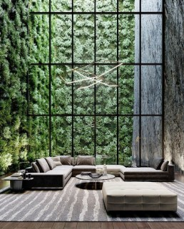Modern Glass Wall Interior Design Ideas18