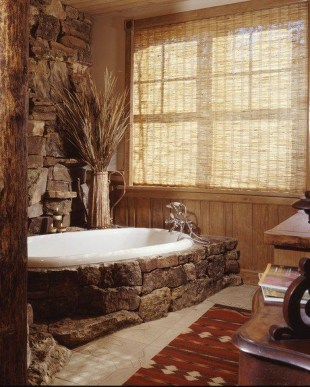 Simple Stone Bathroom Design Ideas13
