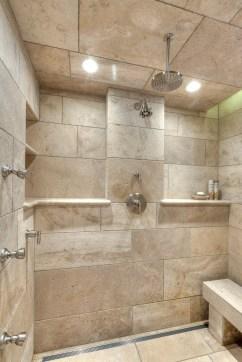 Simple Stone Bathroom Design Ideas34