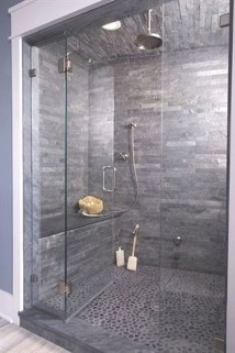Simple Stone Bathroom Design Ideas36