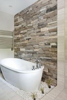 Simple Stone Bathroom Design Ideas47