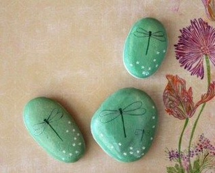 Smart Painted Rock Ideas Home Decoration07