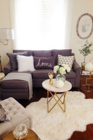 Smart Small Living Room Decor Ideas43