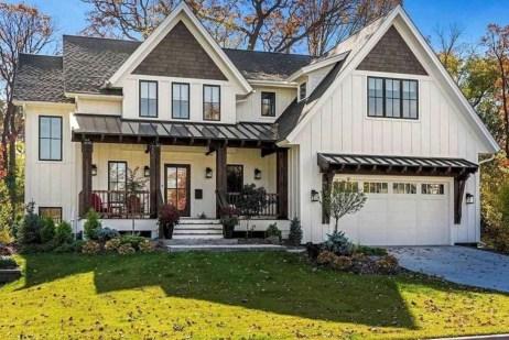 Top Modern Farmhouse Exterior Design29