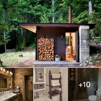 Amazing Outdoor Bathroom Design Ideas32