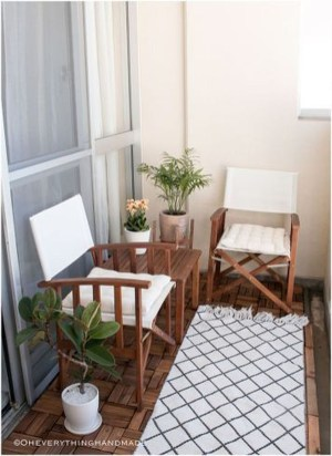 Awesome Small Balcony Ideas For Apartment24