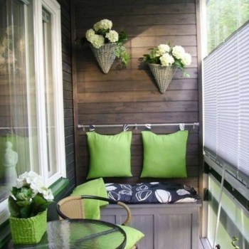Awesome Small Balcony Ideas For Apartment43