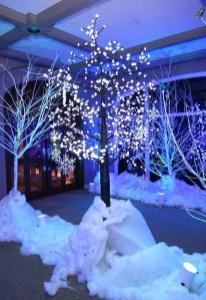 Awesome Winter Wonderland Wedding Decoration12