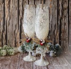 Awesome Winter Wonderland Wedding Decoration34