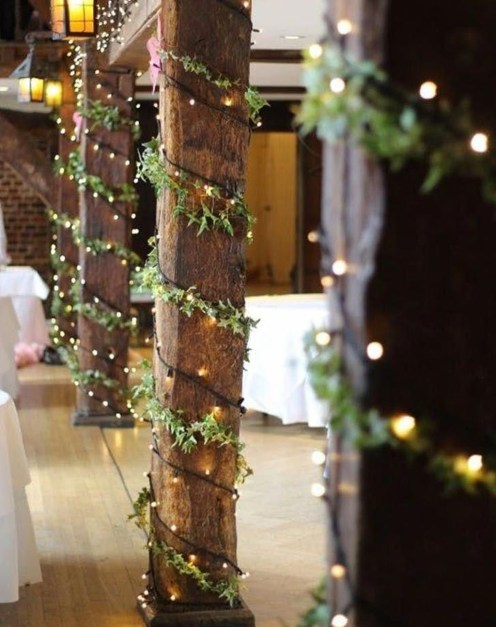 Awesome Winter Wonderland Wedding Decoration36