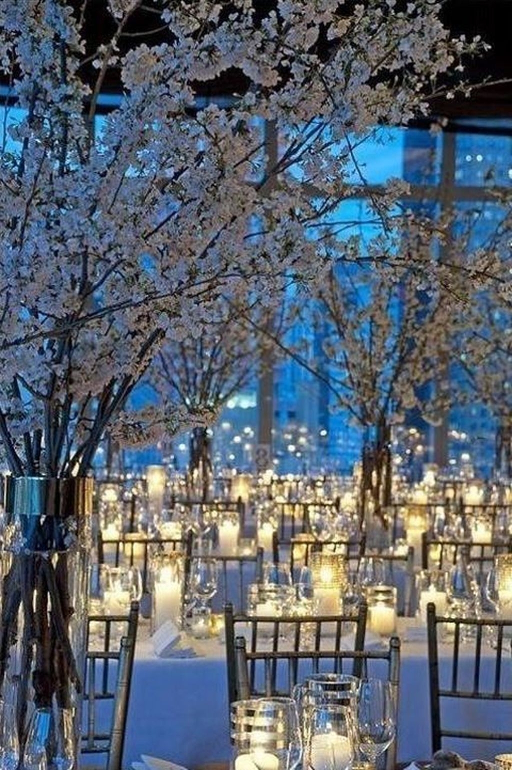 Awesome Winter Wonderland Wedding Decoration37