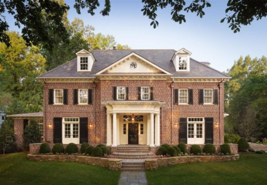 Best Exterior Paint Color Ideas Red Brick15
