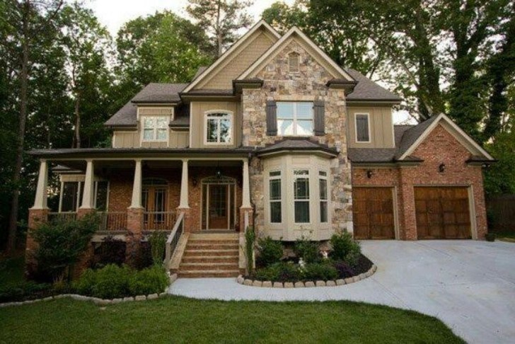 Best Exterior Paint Color Ideas Red Brick20