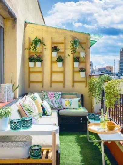 Creative And Simple Balcony Decor Ideas37