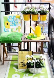 Creative And Simple Balcony Decor Ideas44