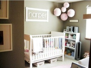 Cute And Cozy Bedroom Decor For Baby Girl28