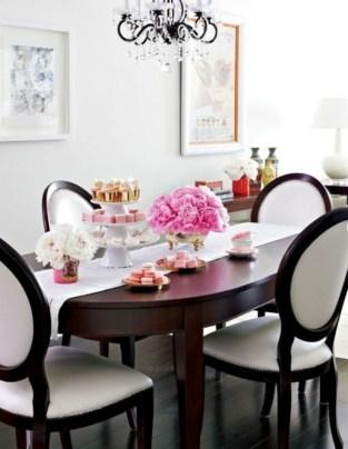 Feminine Dining Room Design Ideas15