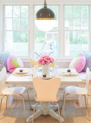 Feminine Dining Room Design Ideas17