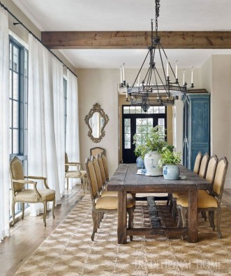 Feminine Dining Room Design Ideas26