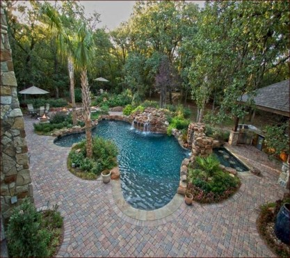 Landscaping Ideas For Backyard Swimming Pools01