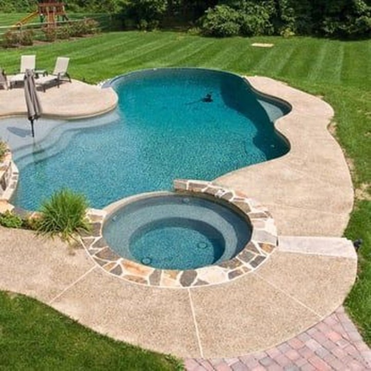 Landscaping Ideas For Backyard Swimming Pools04