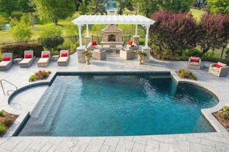 Landscaping Ideas For Backyard Swimming Pools14