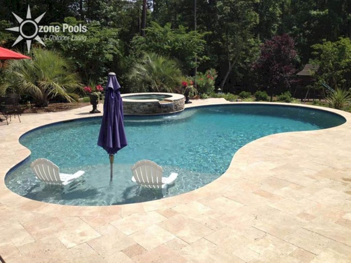 Landscaping Ideas For Backyard Swimming Pools22