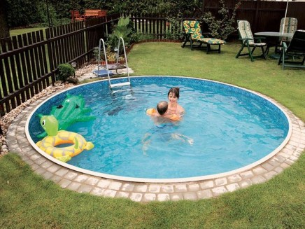 Landscaping Ideas For Backyard Swimming Pools34