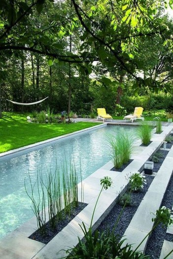 Landscaping Ideas For Backyard Swimming Pools44