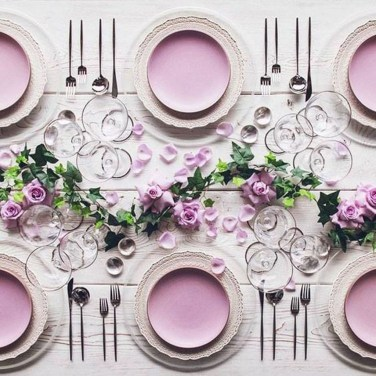 Lovely Dinner Table Design11