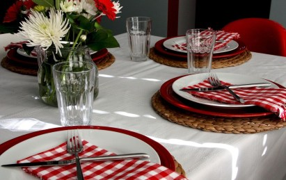 Lovely Dinner Table Design29