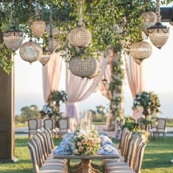 Luxury Wedding Decor Inspiration For Garden Party17