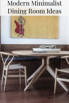 Simple Dining Room Design27