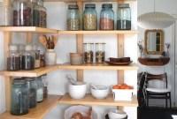 Smart Kitchen Open Shelves Ideas16