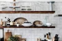 Smart Kitchen Open Shelves Ideas23