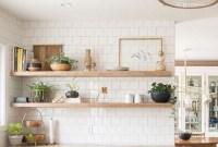 Smart Kitchen Open Shelves Ideas40