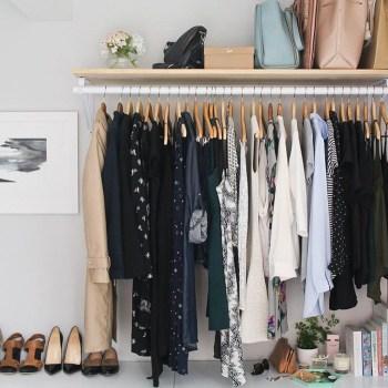 The Best Design An Organised Open Wardrobe14