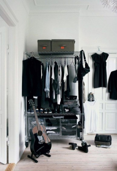 The Best Design An Organised Open Wardrobe21