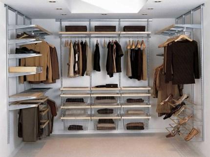 The Best Design An Organised Open Wardrobe23