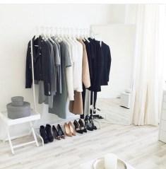 The Best Design An Organised Open Wardrobe28
