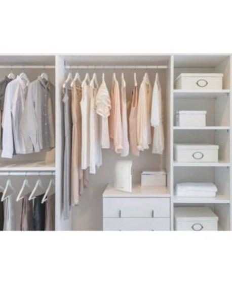 The Best Design An Organised Open Wardrobe38