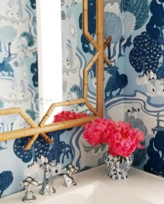 The Best Interior Design Using Wallpaper To Add To The Beauty Of Your Home25