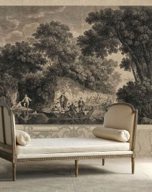 The Best Interior Design Using Wallpaper To Add To The Beauty Of Your Home40