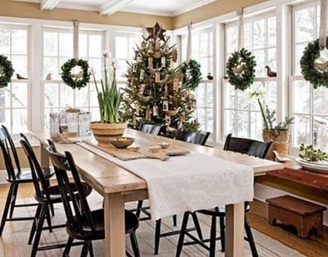 The Ideas Of A Dining Room Design In The Winter12