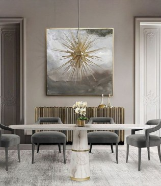 The Ideas Of A Dining Room Design In The Winter28